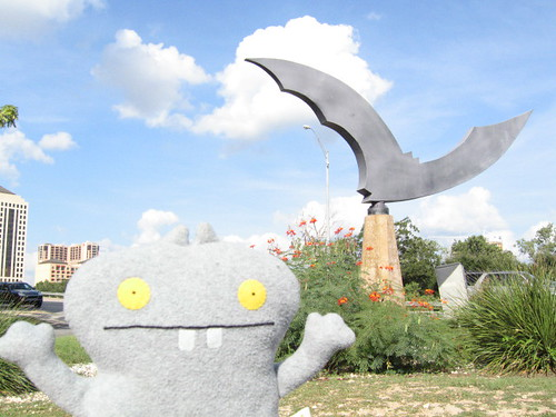 Traveling Babo in Austin, Texas