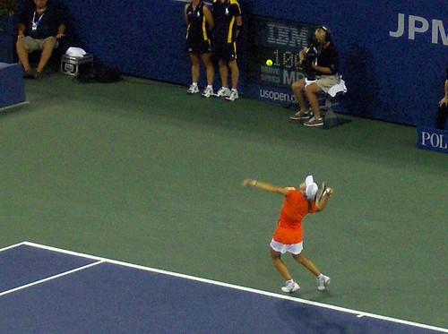 Justine Henin - U.S. Open