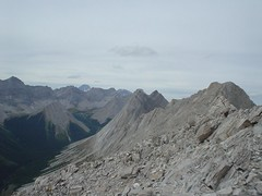 More ridge view (Dave MacDonald) Tags: rockymountains scramble peterlougheedprovincialpark mtindefatigable kananaskislakes