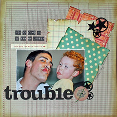 Trouble (SherryGrove) Tags: day11 12x12 singlephoto load0510