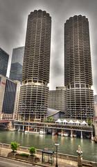 HDR Marina City Chicago