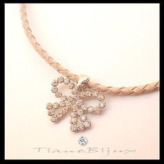 BR94 de perto (TianeBijux *Peas para voc brilhar*) Tags: cordo bijuterias fiodecourotranado