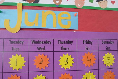 the june calendar