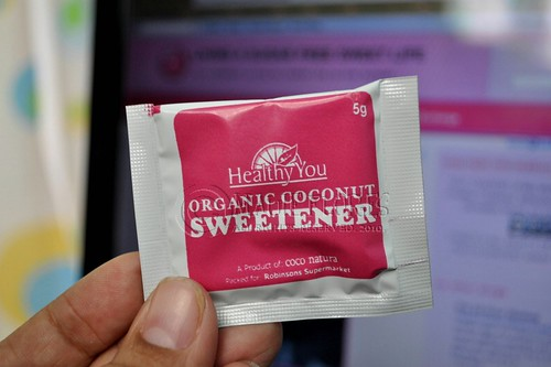 Healthy You Organic Coconut Sweetener in convenient packets