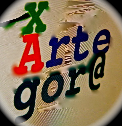 Arte x Agora magazine variazione 2 da te.