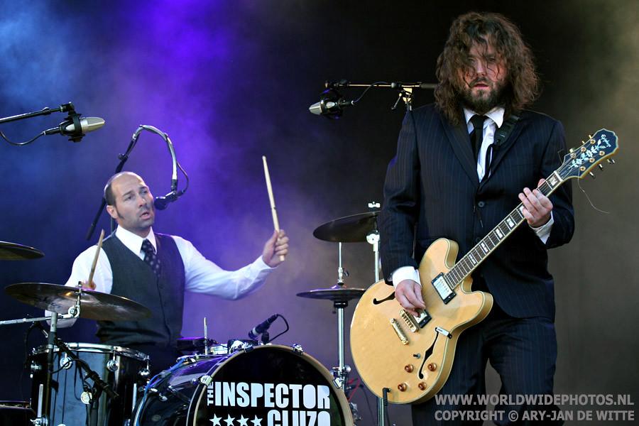 The Inspector Cluzo, Beeckestijnpop, IJmuiden