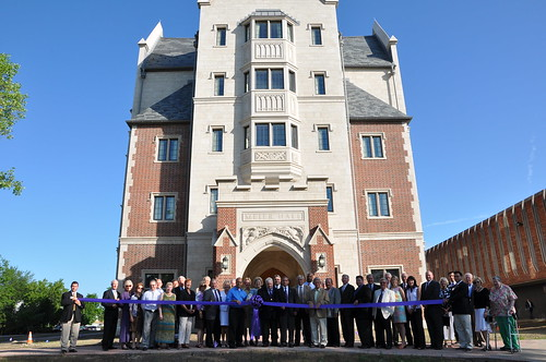 Meier Hall Ribbon Cutting