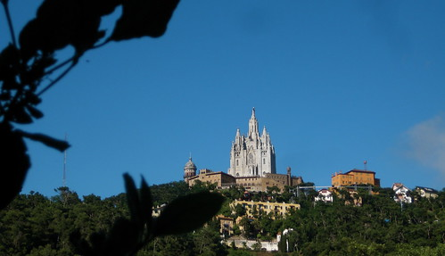Collserola Park is the Tibidabo