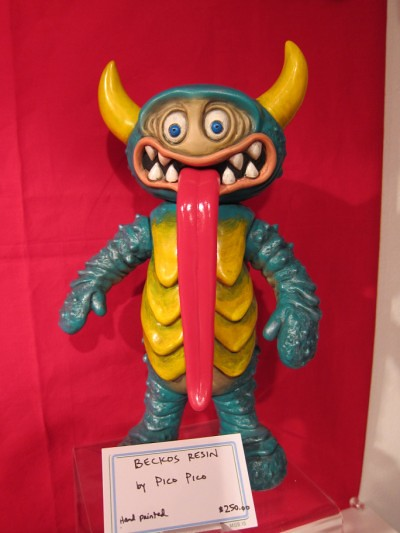Kaiju Bazaar Custom Toy Show at Double Punch