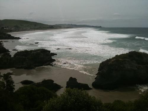 ダニーデン~タイエリマウス間の海