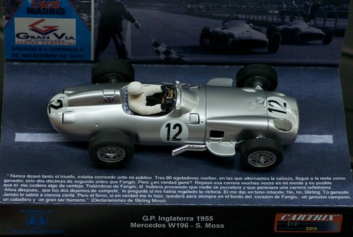 L9770176 - Mercedes W196 Stirling Moss British GP 1955