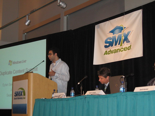 Eytan Seidman of Live Search Search Marketing Expo Advanced Seattle 2007