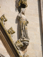 St Nazaire statue (Annie in Beziers) Tags: st cathedral virgins languedoc nazaire bziers