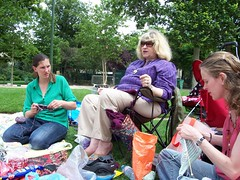 World Wide Knitting in Public Day 2007