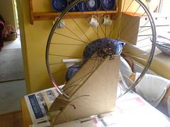 7 Diy Bike Wheel Truing Stands Bikehacks