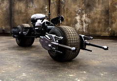 La moto de Batman en 'The dark knight'