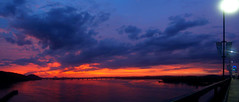 Big Dam Sunset Pan