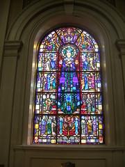 church window glass harry pauls stained peter studios clarke athlone bvm
