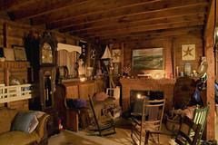 living room hdr (simonpk) Tags: interior cottage maine hdr birchisland 5xp