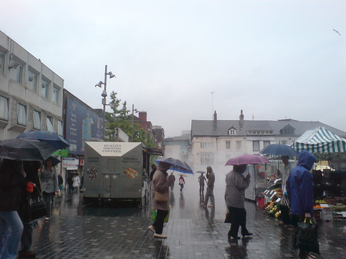 Another July afternoon in Williamson Square