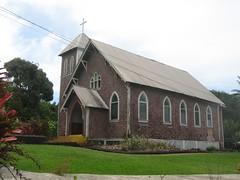 Day9_Maui_Road_to_Hana_NihueChurch (Amudha Irudayam) Tags: beach church hawaii maui hana amu amudha nihue