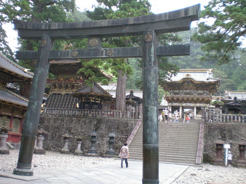 Nikko Tosho-gu Iron Torii