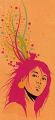 think tank (medialunadegrasa) Tags: girl illustration tank think juancarlos