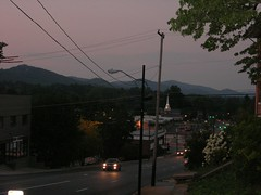 Looking north at dusk.JPG