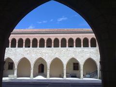 Arco y cielo (torresburriel) Tags: castillo moraderubielos maestrazgo