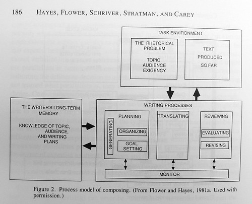 Cognitive Process Model, p 186 (from 1981)