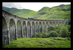 Hogwarts Express train (trevor block) Tags: bridge train scotland highlands harrypotter viaduct hogwarts glenfinnan steamtrain hogwartsexpress aplusphoto holidaysvacanzeurlaub proudshopper