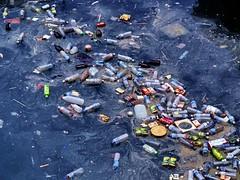 Would you like a beverage? (C Dova) Tags: trash island harbor garbage taiwan penghu refreshments