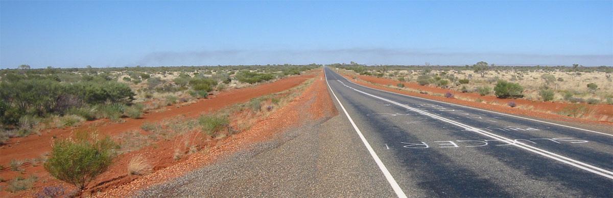 Stuart Highway, NT Australia