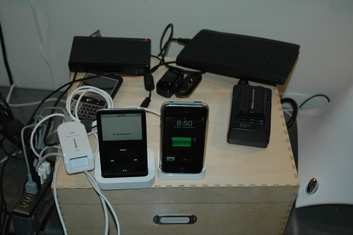 Charging, syncing, USB station