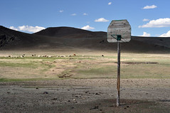 Basketball in the middle of nowhere (Mongolia) (tomsbiketrip.com) Tags: mountain bike basketball cycling asia tour offroad adventure mongolia cycle biking fareast atb