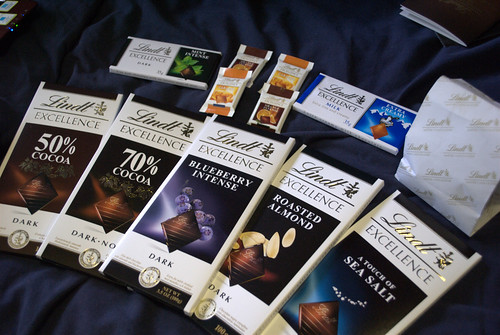 Lindt Chocolate Masterclass goodie bag