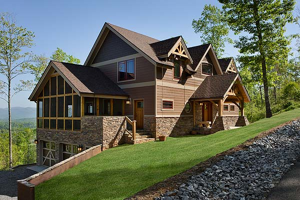 cattail lodge timber frame home exterior riverbend timber framing tags homes usa