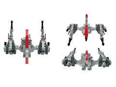 Aku v5 Fighter (Fredoichi) Tags: fighter lego space shooter shootemup starfighter shmup fredoichi