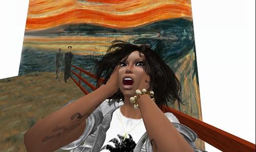 raftwet jewell screams at art box
