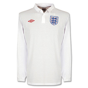 England sports a clean, classic look this year with a simple, retro-ish home