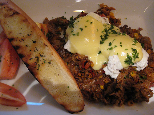 Prime Rib Hash Brunch at Milestones