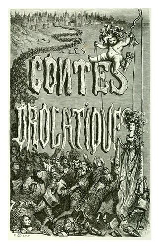 001-portada-Les contes drolatiques…1881- Honoré de Balzac-Ilustraciones Doré