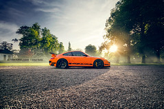 Veyrons For Breakfast (oskarbakke) Tags: orange car super explore porsche tuning frontpage rs veyron gt3 997 mk1 9ff gtboard oskarbakke m5boarddotcom
