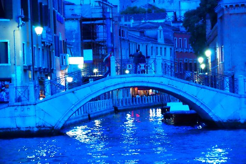 Venice at Night Italy - Venezia italia - Creative Commons by gnuckx