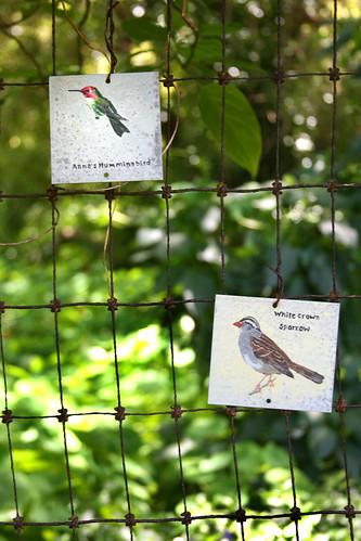 community garden signs