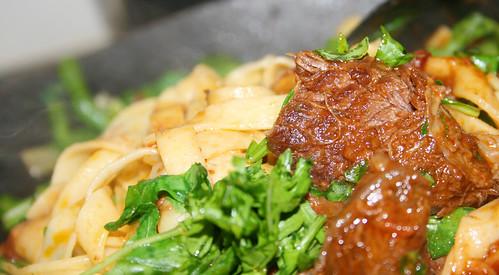 pasta-rundvlees-rucola