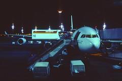 318aa - IBERIA Airbus A340-300; EC-HQF@MAD; 19.09.2004 (Aero Icarus) Tags: plane aircraft mad flugzeug avion iberia slidescan reupload madridbarajas airbusa340300 echqf