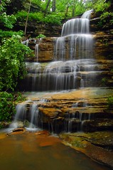 Liles Falls (photogg19) Tags: creek river waterfall nikon stream ozark buffalonationalriver d40 lilesfalls