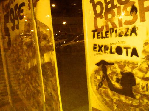 Stencil Telepizza Explota 5185839783_d145008b26