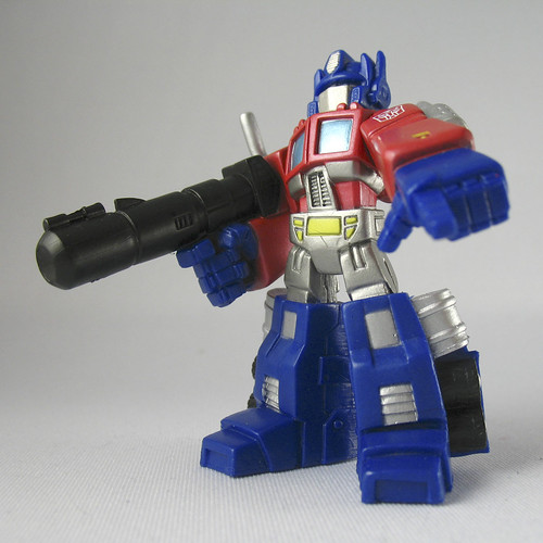 TF Robot Heroes Optimus Prime